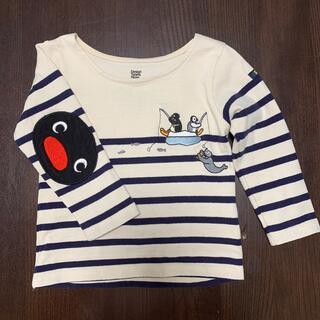 グラニフ(Design Tshirts Store graniph)のピングーカットソー 90cm(Tシャツ/カットソー)