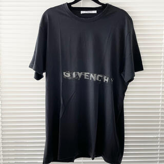 ジバンシィ(GIVENCHY)のgivenchy ジバンシー ブラック 半袖Tシャツ(Tシャツ/カットソー(半袖/袖なし))