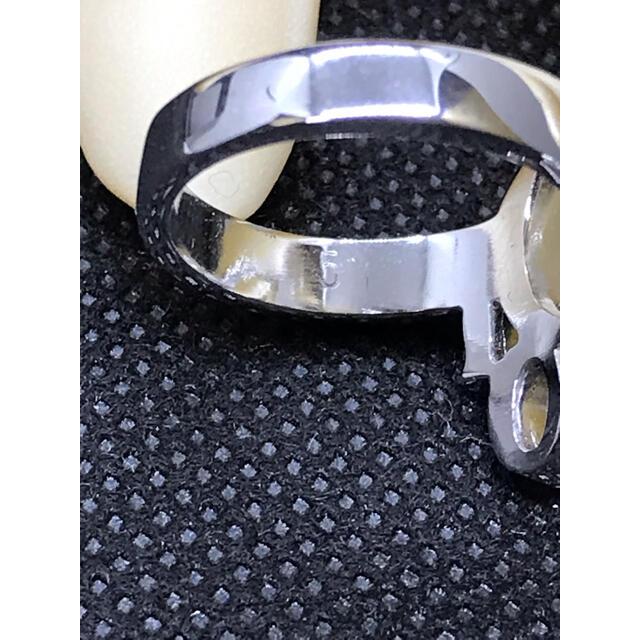 Christian Dior(クリスチャンディオール)のChristian Dior ディオール シルバー ロゴ リング9号 指輪 レディースのアクセサリー(リング(指輪))の商品写真
