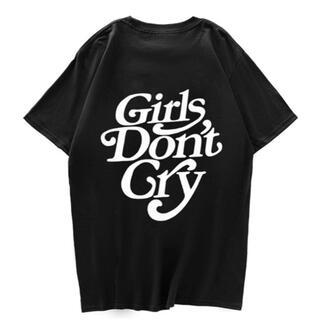 【新品】Girls Don't Cry 未使用 半袖Tシャツ 白 黒 カットソー