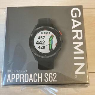 GARMIN - 新品未開封! ガーミン GARMIN  アプローチS62 Black