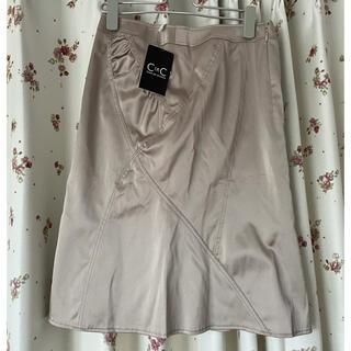 シーディーエスベーシック(C.D.S BASIC)のC DE C 膝丈スカート(ひざ丈スカート)