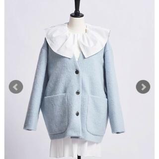 ドゥロワー(Drawer)のご専用 新品 yori ヨリ ウールモヘアシャギージャケット【2021AW】(ノーカラージャケット)