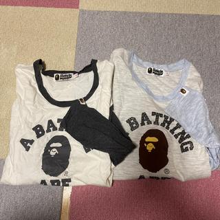 アベイシングエイプ(A BATHING APE)のエイプ レディース ロンT(Tシャツ(長袖/七分))