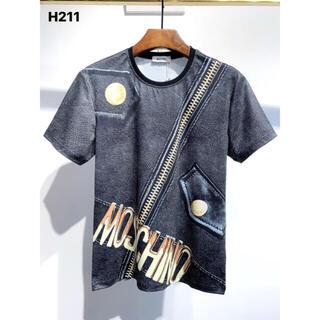 MOSCHINO - MOSCHINO  H 211   メンズTシャツ M-3XLサイズ選択