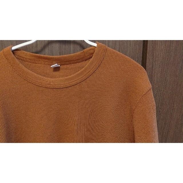 UNIQLO(ユニクロ)のUNIQLO ユニクロ ワッフルクルーネックT メンズのトップス(Tシャツ/カットソー(半袖/袖なし))の商品写真