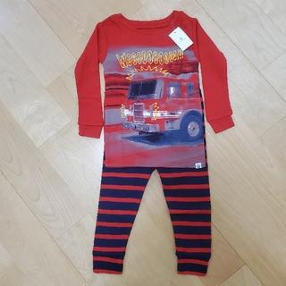 ベビーギャップ(babyGAP)の新品♪babyGAP♪消防車 パジャマ 80(パジャマ)