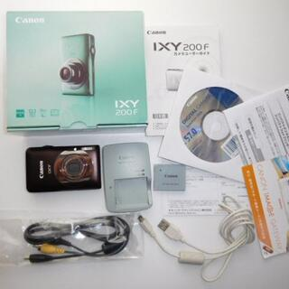 Canon キヤノン IXY200F BW  イクシー デジカメ デジタルカメラ