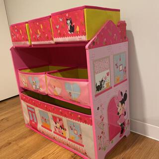 ミニー デイジー 収納 オーガナイザー おもちゃ箱 子供 収納 片付け