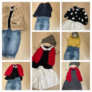 プティマイン(petit main)のナチュラル。◯子供服/まとめ売り/福袋。◯サイズ90〜110(ワンピース)