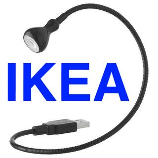 イケア(IKEA)のIKEA USB ライト LED ランプ 小型 JANSJÖ ヤンショー(その他)