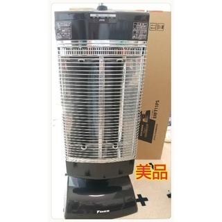 ダイキン(DAIKIN)のダイキン セラムヒート 遠赤外線暖房機 2013年製 首振りダークブラウン 美品(電気ヒーター)
