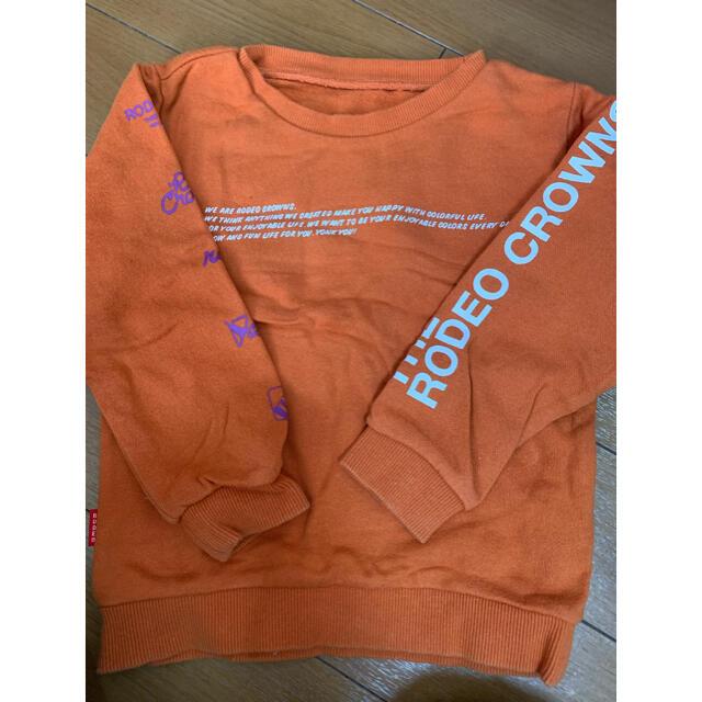 RODEO CROWNS(ロデオクラウンズ)のrodeo♡キッズトレーナー キッズ/ベビー/マタニティのベビー服(~85cm)(トレーナー)の商品写真
