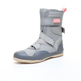 ムーンスター(MOONSTAR )の【未使用】ムーンスター  ワークシューズ MS RLS03 アッシュ 23cm(レインブーツ/長靴)