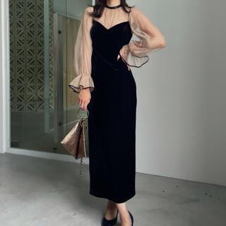 アメリヴィンテージ(Ameri VINTAGE)のAmeri vintage dress (ロングドレス)