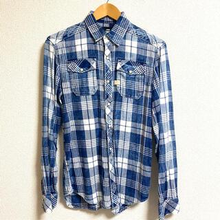 G-STAR RAW - G-STAR-RAW MENS チェックシャツ