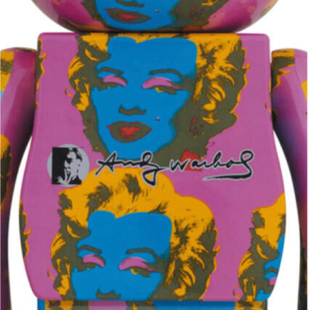 MEDICOM TOY(メディコムトイ)の新品未開封Andy Warhol Marilyn Monroe 1000% エンタメ/ホビーのフィギュア(その他)の商品写真