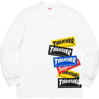 Supreme - Supreme Thrasher Multi Logo LS Tee
