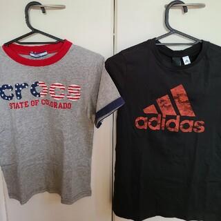 adidas - 新品未使用送料込 アディダス クロックス Tシャツ2枚セット140cm