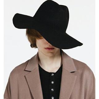 SHAREEF - SHAREEF WIDE BRIM HAT ブラック