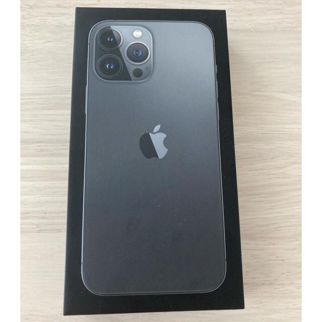Apple(アップル)のiphone 13 pro max 128gb グラファイト simフリー スマホ/家電/カメラのスマートフォン/携帯電話(スマートフォン本体)の商品写真