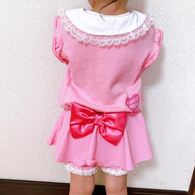 EARTHMAGIC(アースマジック)の専用☆☆☆ キッズ/ベビー/マタニティのキッズ服女の子用(90cm~)(ワンピース)の商品写真