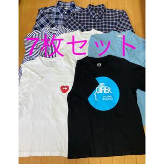 UNIQLO - ユニクロ メンズ シャツ まとめ売り 7枚 Lサイズ