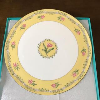 ティファニー(Tiffany & Co.)のティファニー ピンクチューリップ皿(食器)