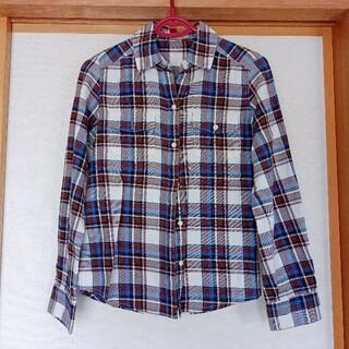 ユナイテッドアローズ(UNITED ARROWS)のUNITED ARROWS チェックシャツ 長袖シャツ ネルシャツ M(シャツ/ブラウス(長袖/七分))