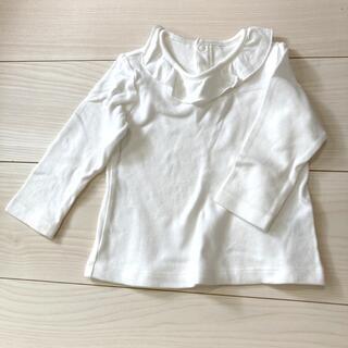 サイズ80☆ユニクロ白シャツ