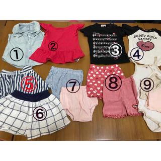 ベビーギャップ(babyGAP)の夏服 80センチ まとめ売り(Tシャツ)