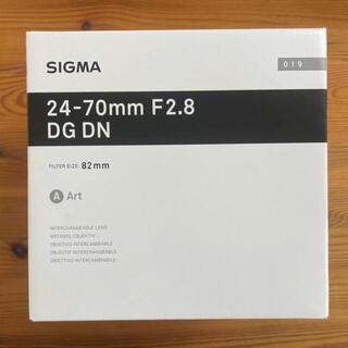 SIGMA - SIGMA Art 24-70mm F2.8 DG DN ソニー Eマウント