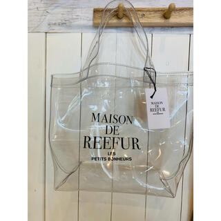 メゾンドリーファー(Maison de Reefur)のMaison De Reefur 透明ハンドバッグ(ハンドバッグ)