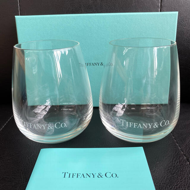 Tiffany & Co.(ティファニー)のティファニー ペアタンブラー ペアグラス インテリア/住まい/日用品のキッチン/食器(グラス/カップ)の商品写真