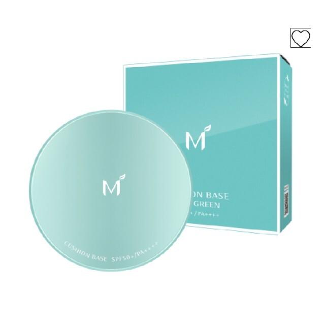MISSHA(ミシャ)のミシャ M クッションベース(ミント) コスメ/美容のベースメイク/化粧品(化粧下地)の商品写真