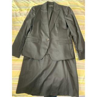 インディヴィ(INDIVI)のINDIVI インディヴィ 黒スーツセットアップ 大きめサイズ(スーツ)