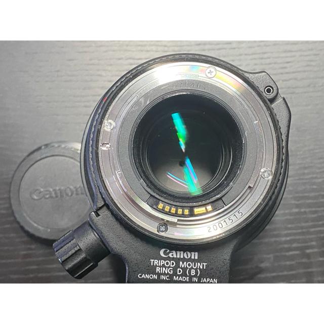 Canon(キヤノン)のキヤノン Canon EF100mm F2.8L マクロ IS USM スマホ/家電/カメラのカメラ(レンズ(単焦点))の商品写真