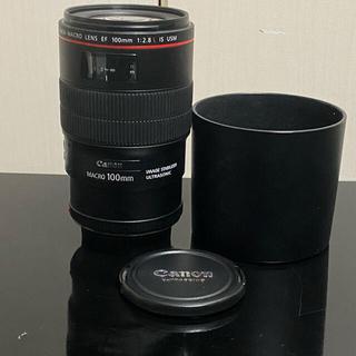 Canon - キヤノン Canon EF100mm F2.8L マクロ IS USM