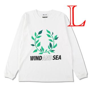 ジーディーシー(GDC)のwind and sea transport ローレル ロンT L 月桂樹(Tシャツ/カットソー(七分/長袖))