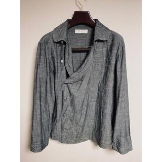 エムシックスティーン(M16)のM16 エムシックスティーン インディゴ ヘリンボーン シャツ ジャケット(シャツ)