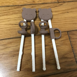 3COINS - 2セット スリーコインズ はし 練習用トレーニング箸