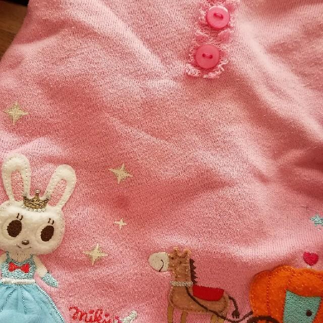 mikihouse(ミキハウス)のミキハウス キッズ/ベビー/マタニティのベビー服(~85cm)(トレーナー)の商品写真