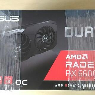 ASUS - 新品2個セット ASUS AMD Radeon RX 6600 XT DUAL