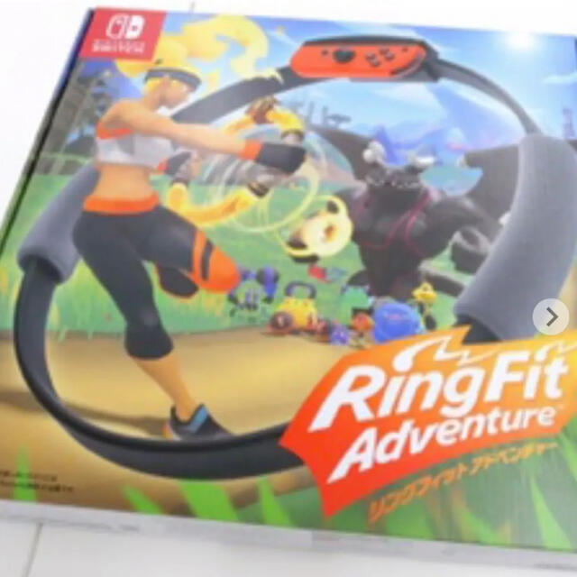 Nintendo Switch(ニンテンドースイッチ)のリングフィット アドベンチャー 全てセット エンタメ/ホビーのゲームソフト/ゲーム機本体(家庭用ゲームソフト)の商品写真