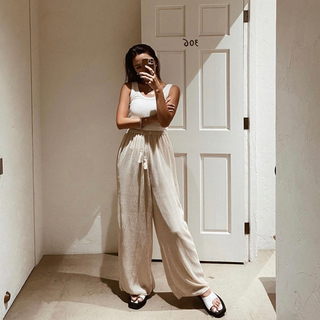 room306 CONTEMPORARY - room306CONTEMPORARY tassel wide pants