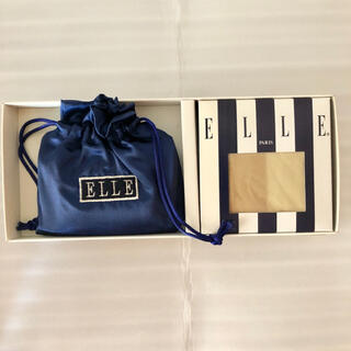 ELLE - ELLE ストッキング 巾着袋 セット