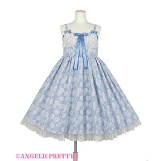 Angelic Pretty - 試着のみ Silky Fleurジャンパースカート