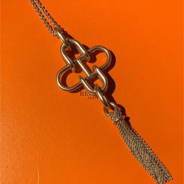 Hermes(エルメス)のHERMES Rose de Mer エルメス シルバー ネックレス メンズのアクセサリー(ネックレス)の商品写真