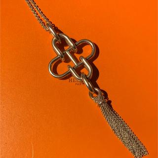 エルメス(Hermes)のHERMES Rose de Mer エルメス シルバー ネックレス(ネックレス)