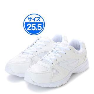 ホワイトスニーカー 25.5cm 16249